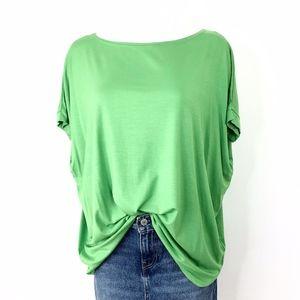 PIKO 1988 | Bright Green Oversized Tee Shirt